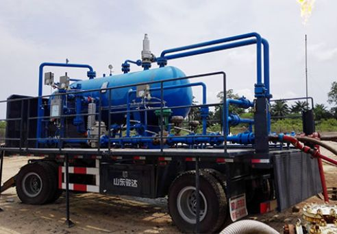 Mobile Oilfield Surface Test Equipment in India